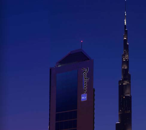 Radisson Blu Hotel Dubai DownTown 4*
